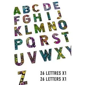 Carabelle Studio – Alphabet Stamps